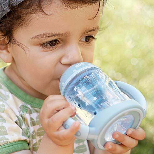 NUK 10215220 Disney Winnie First Choice Trinklernflasche aus PP 150ml, mit Soft-Trinktülle aus Silikon, BPA frei, ab 6 Monate, grün - 6