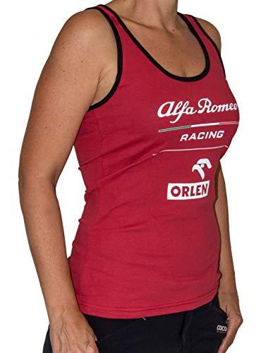 Alfa Romeo Essential Damen Top, red, M