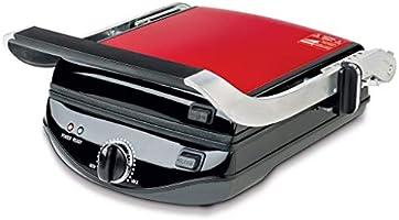 Fakir 41002310 Valery Izgara & Tost Makinesi, 1800 W, Plastik, Kırmızı