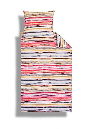 Estella Elmo Interlock-Jersey-Bettwäsche 155x220 + 80x80 410 - Pink