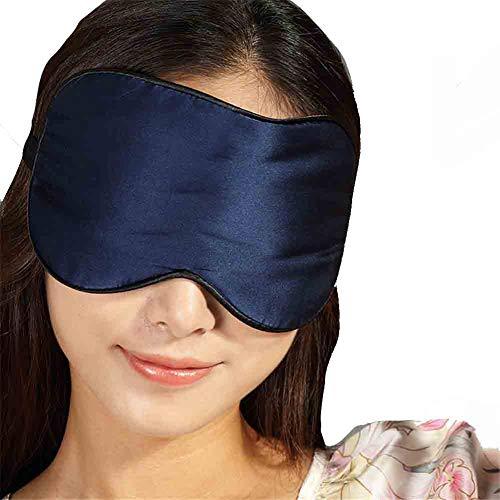 CNBPLS Maske, 100% Maulbeereseide Schlafmaske & Verbundene Augen, Super-Smooth Augenmaske, Shading, Komfortabel, Mittagspause, Schläft, Doppelseitige Seide Augenmaske...