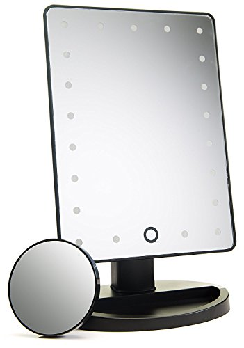 Absolutely Luvly Natural Daylight Lighted Makeup Mirror/Vanity Mirror with Touch Screen...
