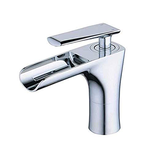 Best Prices! Yadianna High Water Flow Taps Single Handle Sink with Brass Tap Accessories for Sink