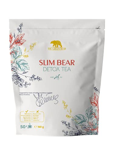 The Green Bear Detox Tea for Weight Loss and Belly Fat, Natural Slimming...