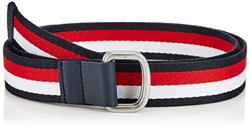 Tommy Hilfiger Tjm Dring Webbing Belt 3.5 Cintura, Black Bds Uomo Taglia Produttore: 100.0 8