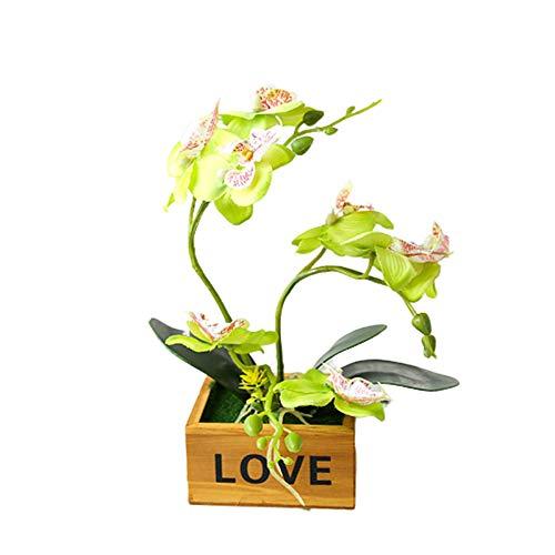 xiamenchangketongmaoyi Hochzeitsdekoration Moderne künstliche Topfpflanze Gartendekoration Büro-Dekor Veranda-Dekor Topfpflanzen im Freien Grabschmuck Pflanzen dekorativ Green