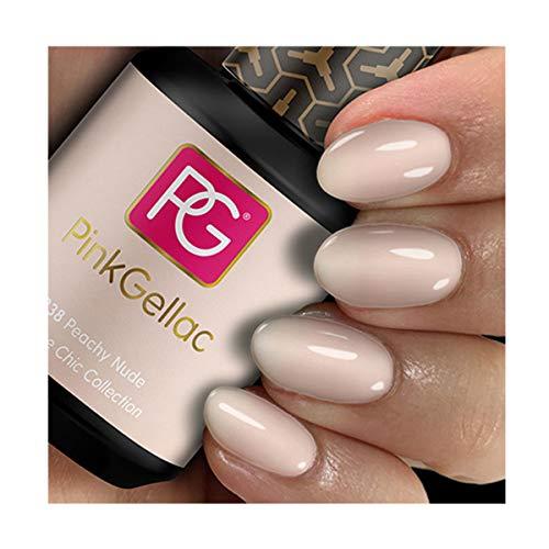 PINK Gellac color 238 Peachy Nude esmalte pintauñas gel permanente 14 días