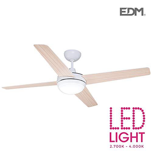 LED plafondventilator model ChUKOTKA Ø 130 cm wit hout 2200 lumen EDM