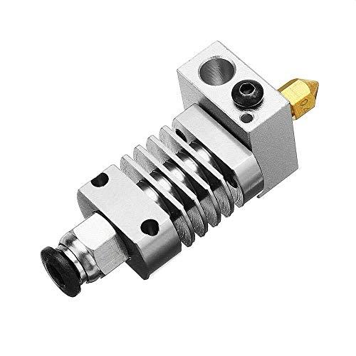 W-SHTAO L-WSW 3D-Drucker-Zubehör, 1.75mm V6 Allmetall J-Head Hotend Fern Extruder Kit mit Heizrohrprüfung for CR10 / CR8 3D-Drucker Drucker