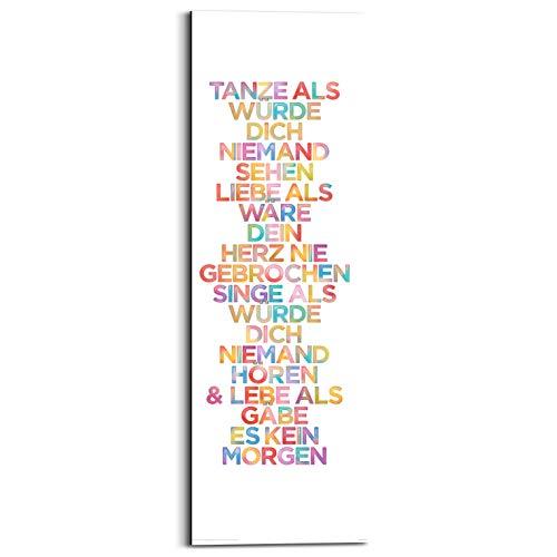 REINDERS Tanze. - Wandbild 30 x 90 cm