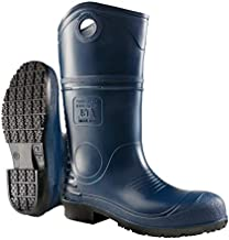 Dunlop 8908614 DURAPRO Boots with Safety Steel Toe, 100% Waterproof Polyblend PVC Material, Comfortable DURAPRO Energizing Insoles, Lightweight and Durable Protective Footwear, Size 14