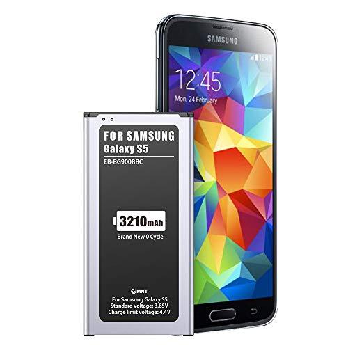 EMNT 3210mAh Akku für Samsung Galaxy S5, Interner Lithium-Ionen-Akku【2020 hohe Kapazität Galaxy S5 Handy-Akku Akku-Austausch ohne NFC 【2 Jahre Garantie】