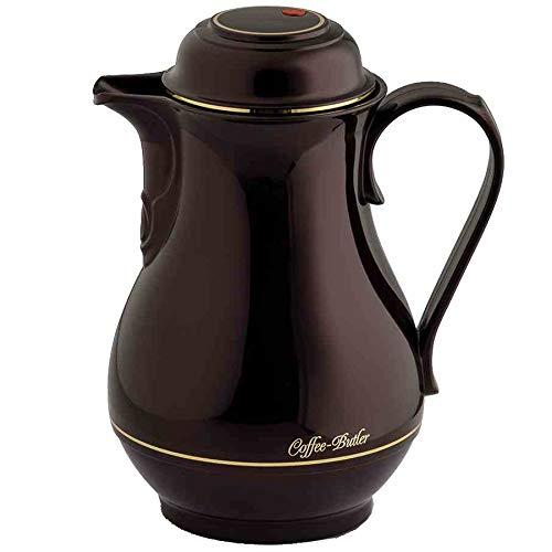 Rotpunkt thermoskan 1 liter, Black Cherry, kunststof, donkerrood, 14,9 x 14,9 x 24,3 cm