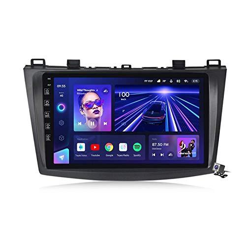 Android 10.0 Coche Estéreo GPS, Radio para Mazda 3 2010-2012 Navigación de 9 pulgadas Unidad de cabeza de 9 pulgadas MP5 Reproductor multimedia Video Receptor con 4G / 5G WiFi DSP RDS FM MirrorLink