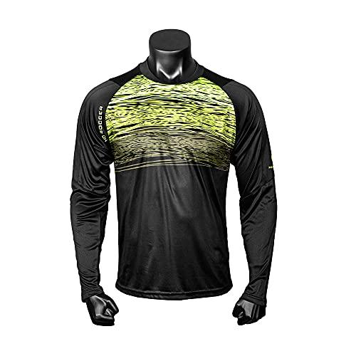 HO Soccer Jersey PHENOMEON LS Black Maglia da Portiere, Color Lime, XL Unisex-Adulto