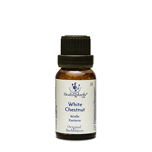 Healing Herbs Bachblüten White Chestnut Globuli, 15 g