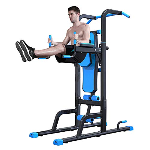 ZYQDRZ Heavy-Duty Power Tower, Large Multifunctional Gym Fitness Bench, Used for Push-Up Pull-Up Strength Training, Single Parallel Bars Exercise Home Fitness Equipment