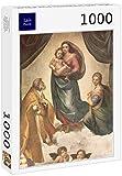 Lais Puzzle Rafael - Madonna Sixtina, Escena: María con el Niño Jesús, San Papa Sixto II y Santa Bárbara 1000 Piezas