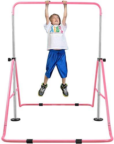 YEEGO DIRECT Expandable Gymnastics Bars, Folding Gymnastic Horizontal Bars...