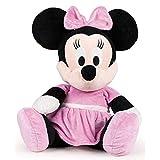 Famosa Softies - Peluche Minnie Flopsie Vestido Rosa Clasico 50cm Calidad Super Soft (760010784)