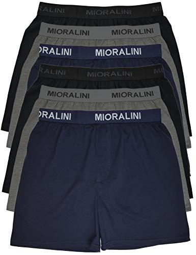 MioRalini 6 Boxershort Baumwolle, Textbund Artikel: 6 STK ohne Eingriff 02, Größe: 3XL-9