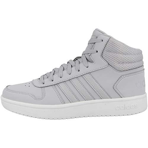 adidas Zapatos de mujer niña altas FW3504 Zapatillas de baloncesto deportivas deportivas
