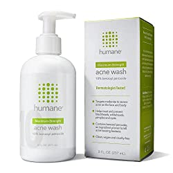 humane acne wash - our top pick for the best body wash for acne prone skin