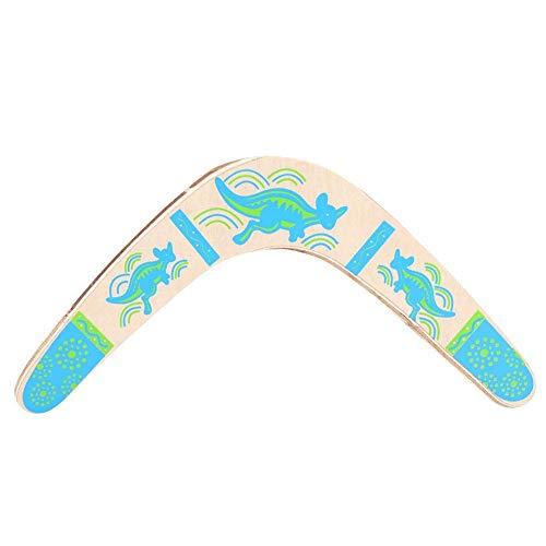 Boomerang De Madera en Forma de V Devolución de Juguete de Deportes al Aire Libre Boomerang para Equipos de Juego de Deportes