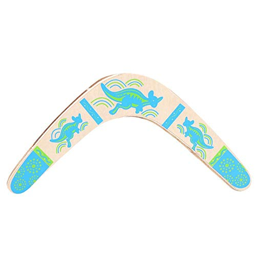 Boomerang Wooden V Shaped Zurückkehren Sports Spielzeug für Spielgeräte