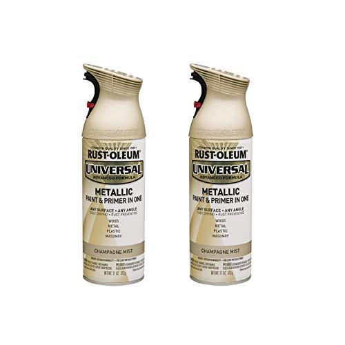 Rust-Oleum 261415A2 Universal All Surface Metallic Spray Paint, 11 Ounce (Pack...