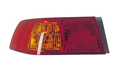 Epic Lighting OE Style Replacement Rear Brake Tail Light Assembly Compatible with 2000-2001 Camry [ TO2800140 81560AA040 ] Left Driver Side LH
