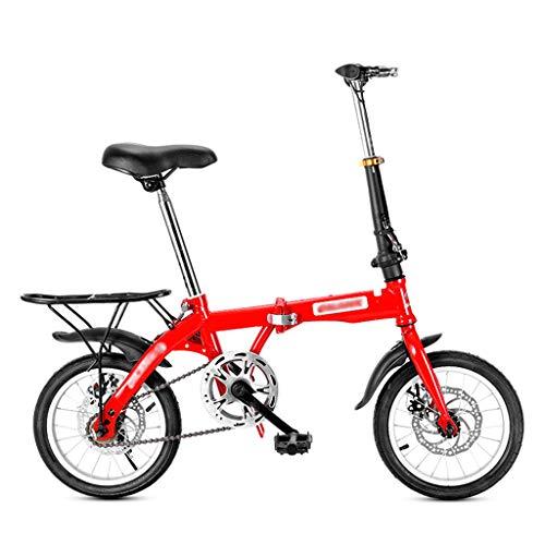 Mini Faltrad Rennrad Erwachsene Männlich Studentin Fahrrad City Bike Leichtes Fahrrad Herren (Größe: 14 Zoll / 16 Zoll / 20 Zoll)