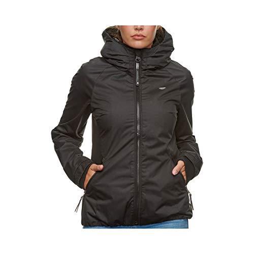 Ragwear Jacke Damen DIZZIE 2111-60007 Schwarz 1010 Black, Größe:M