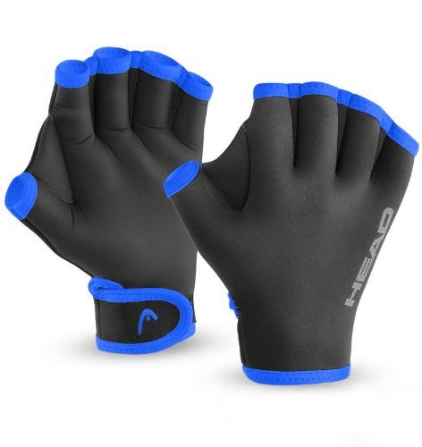 Head Swim Glove, Black Blue