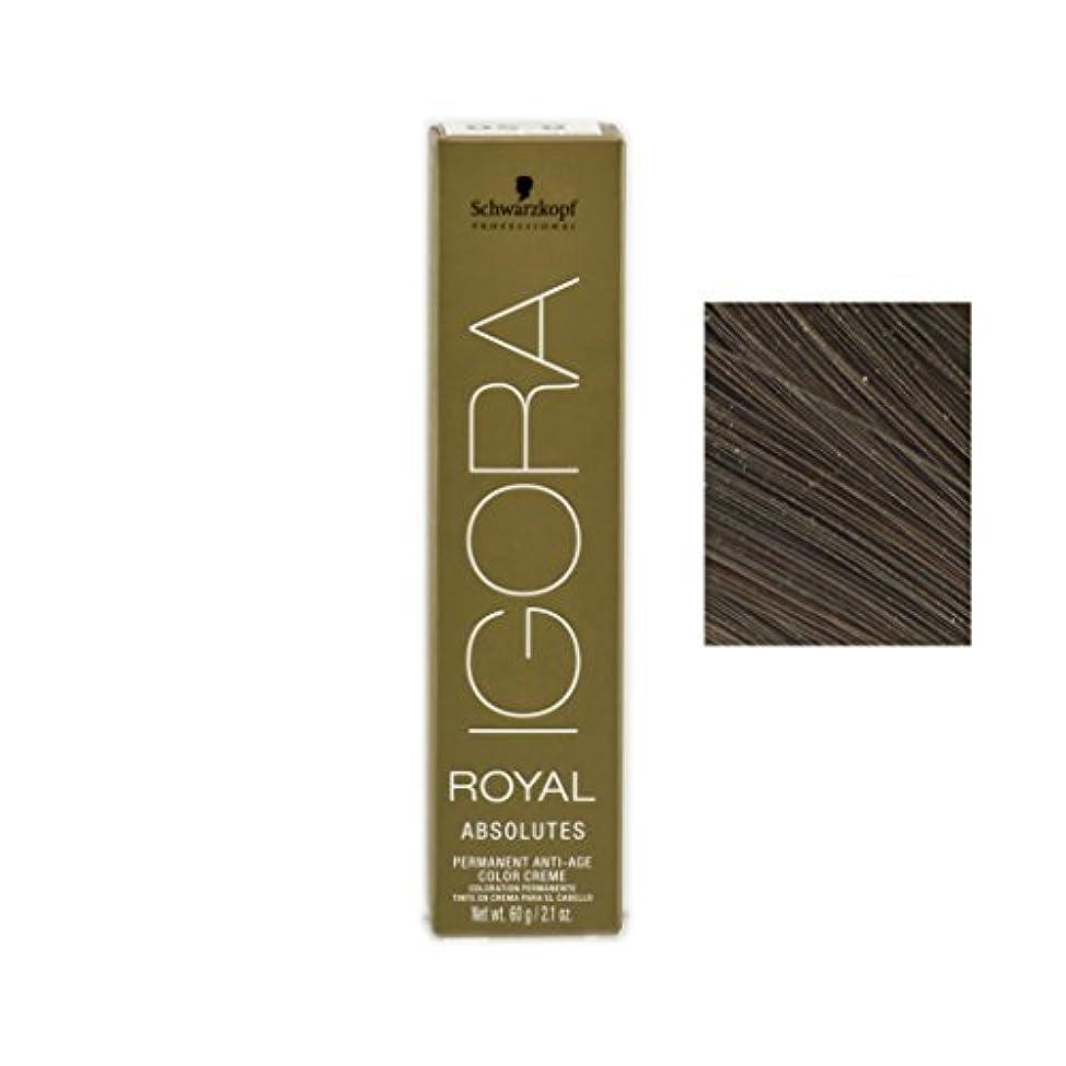 に沿って薬ホステルSchwarzkopf Professional Igora Royal Absolutes Hair Color - 5-60 by Schwarzkopf [並行輸入品]