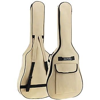 lianle Guitarra funda 34 – 41 inch para guitarra acústica clásica ...