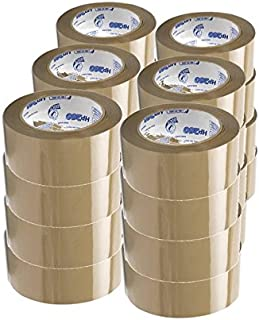 Duck Brand HP260 Tan Packaging Tape (High-Performance 3.1 Mil), 1.88-inch x 60 yards, #299009 - 24 ROLLS