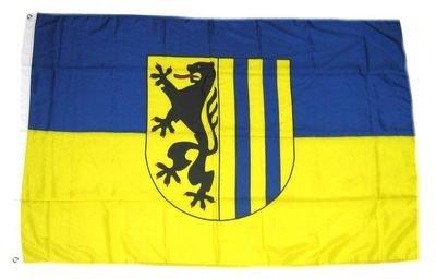 Fahne Leipzig Stadt Leipzig Flagge Grösse 1,50x0,90m