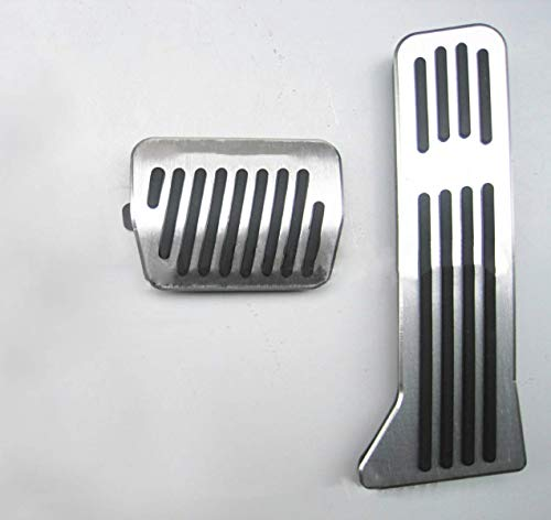 Für CX-3 CX-4 CX-5 Auto Bremse Gaspedal Pedalabdeckung Pedalkappe Pedalset Aluminiumlegierung PPE-Gleitschutz AT zwei