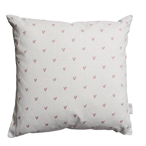 Sophie Allport 100% Cotton Hearts Cushion - (45cm x 45cm)