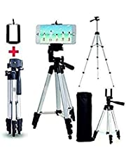 MAGBOT Tripod Stand for Mobile Phones & Cameras with Mobile Holder Bracket |DSLR Camera & Go Pro | Video Shooting for YouTube & Reels Videos with Bag for All Smartphones.