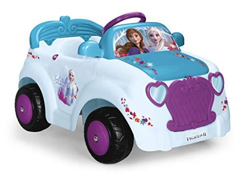 FEBER - Coche eléctrico Frozen 2 de una plaza, para niños y niñas de más de 3 años, 6V (Famosa 800012191)