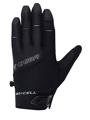 Chiba BioXCell Touring Fahrrad Handschuhe lang schwarz 2019: Größe: XL (10)