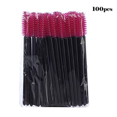 Brosse à cils jetable Mascara Wands Applicateur Baguette Brosses Cils Peigne Brosses Spoolers Maquillage Tool Kit - Coloré