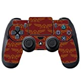 Red Triforce Pattern PS4 DualShock4 Controller Vinyl Decal Sticker Skin by Demon Decal
