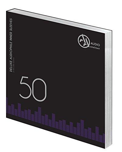 """Audio Anatomy Vinyl-Innenhüllen 12"""" - Creme, 50 Stück"""