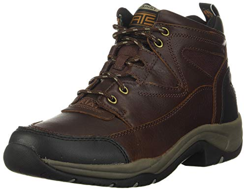 ARIAT Women's Terrain Hiking Boot, Cordovan, 7 B US