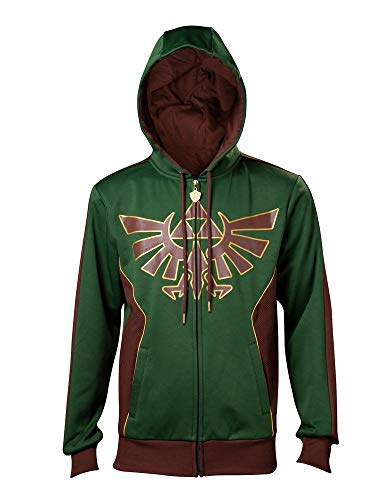 Zelda - Golden Triforce - Zipper | Kapuzenjacke, Größe:M