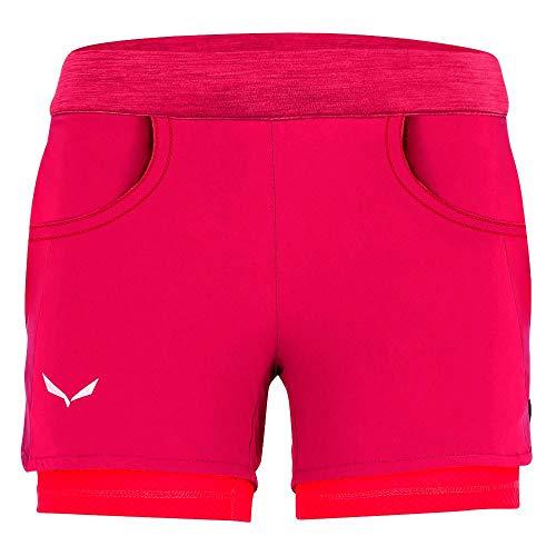 Salewa Agner Durastretch, Un Pantalon Unisexe-Adulte, Rose Red, 152 Cm