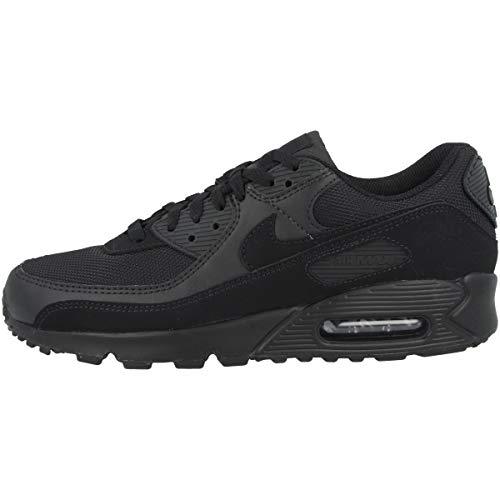 Nike Air Max 90, Scarpe da Corsa Uomo, Black/Black/Black/White